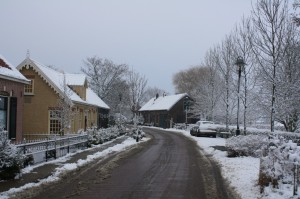 ©2009, Julius Röntgen, the Dutch village of Tinte in wintertime.