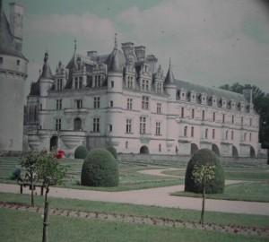 Loire Castle-Region Chenonceaux june 1964