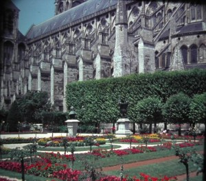 Bourges. Gothic Cathedral. june 1964