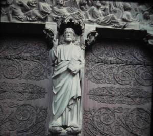 Paris. Notre Dame Le Bon Dieu. June 1964