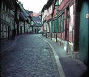 Goslar. Peterstrasse.