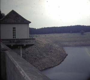 EckerValley Waterbasin. Border to Eastern Germany. August 1964.