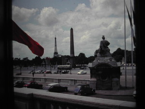 Paris. Place de la Concorde, June 1963