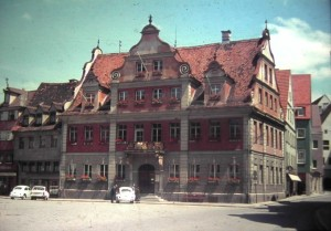 Memmingen Bavaria, FRG.July 1965.