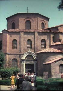 San Vitale church,Italy, July 1965