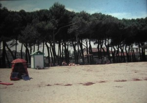 Pineto, Beach, Crentral Italy, July 1965.