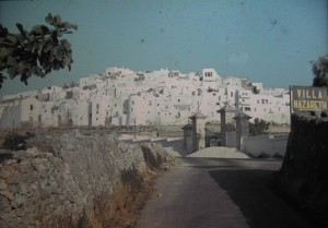 village of Ostuni July 1965.