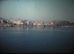 departure of Corfu. July 1965.