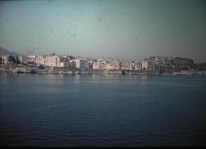 departure of Corfu. July 1965.