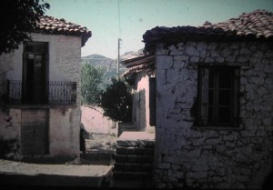 the poor village of Langadia in the centre of the Pelopponnesos. July 1965