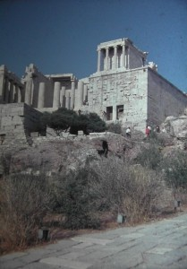 Little temple of Nike, Athens, July 1965.