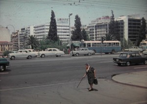 Plateia Syntagma,  Athens July1965.