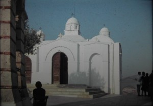 church of Aghios Ghiorgos on the top of ykavittos, Athens, july 1965.