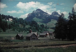 beautiful Styria. one of the Federal States of Austria. August3, 1965.