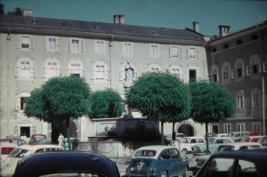 Court in the neighbourhood of St. Peterschurch, Salzburg, 5 August 1965.