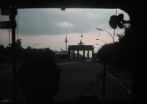 The Brandenburg Gate is and was Always the symbol of Berlin. This picture made in June 1973.