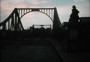 Glienicker Bruecke/ Bridge of Glienicke near Potsdam. June 1973