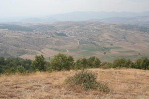 Landscape direction Mount Olymp.