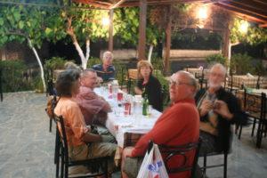 Last main dinner in Meteora