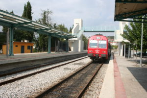 the train to Larissa.