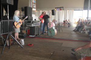 "The ""Amazing Stroopwafels"" playing Hits on Saturday afternoon July 7."